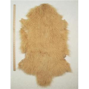 Half pelt Yellow Gold Tibetan lambskin 24616