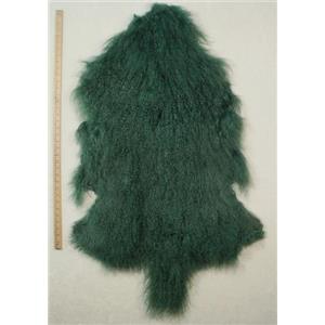 Half pelt Sea green Tibetan lambskin 24622