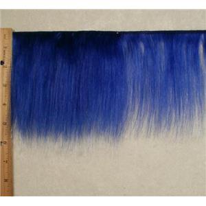 """mohair weft Blue  straight 5-6""""x190""""  24678 FP"""
