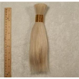 """Goat hair Bulk  Blonde 60 7-10"""" x100g 24744 FP"""