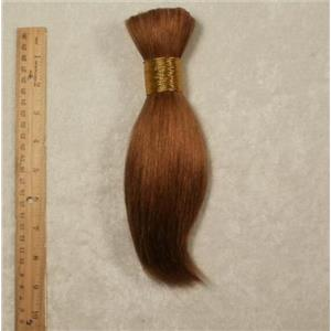 "Goat hair Bulk  Auburn brown 16 7-10"" x100g 24743 FP"