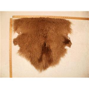 Half pelt Dark blonde 014 with dark spot  Tibetan lambskin 24772