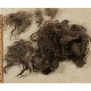 """Mohair washed adult silver to dark gray wavy 3-6""""  1 oz 24797"""