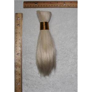 """Goat hair Bulk natural off white  60 7-10"""" x100g 24937 FP"""
