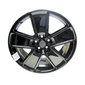 "*NEW* Rear Black PVD 21"" Inch Wheel Rim 19257815 2010-2013 GM Chevy Camaro"