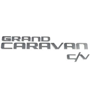 New Grand Caravan Van CV C/V Back Door Lift Gate Logo Emblem Badge Nameplate