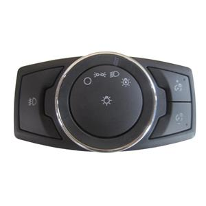 OEM Ford Headlight Switch w/Auto Light, w/Single Beam Fog, w/o Angle DG9T-13D061-BCW