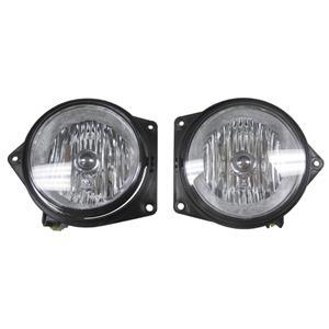 Genuine OEM Hummer H3 H3T Fog Light Assembly Late Design Lamp Pair Set