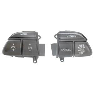 Factory OEM Honda Steering Wheel Radio / Cruise Control Switch Set