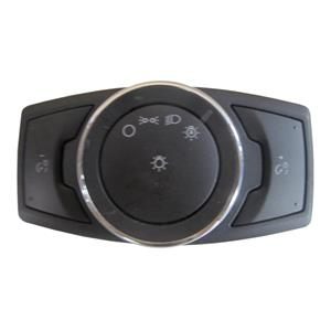 OEM Ford Headlight Switch w/Auto Light, w/o Fog & Angle Adjust DG9T-13D061-CCW