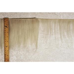 "mohair weft  coarse undyed / unglazed  straight hair 5-7 x 200"" 25558  FP"