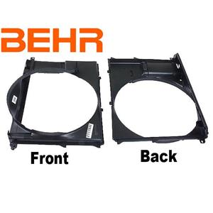 New BEHR BMW Factory OE Radiator Fan Shroud 540I 740i Z8 840 850