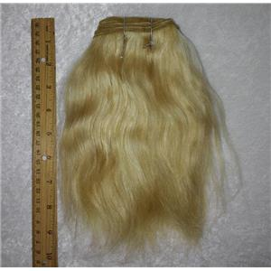 "OX hair weft coarse color Blonde 25 straight 7-9 x 190"" 90-100g 25734 FP"