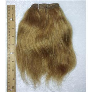 "Ox hair weft coarse Brown 12 straight 7-9 x 47 "" 20-25g 25740 QP"