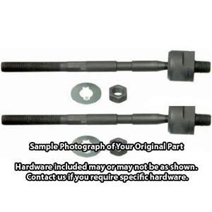 *PAIR OF 2* Inner Tie Rod Steering End - Driver and Passenger Side SAE-EV350