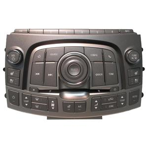 6-CD Radio Dials and Dual Climate Control Faceplate w/ Heated and Cooled Seats