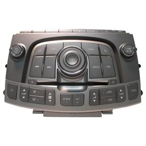 6-CD Radio Dials and Dual Climate Control Faceplate Module w/out Heated Seats