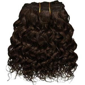 "Dark Brown 3 curly mohair weft coarse 6- 8"" x 50"" QP  26324"