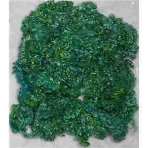 ringlet mohair variegated greens /blues fairie hair 25