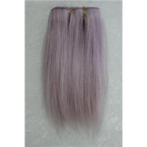 "Lilac straight mohair weft coarse 6-8"" x100"" 25835 HP"