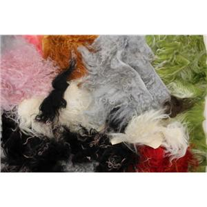 5 oz lot Tibetian lambskin fairy doll  neutrals and haircolors mix 26056