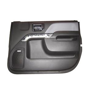 Factory New GM 0 miles Silverado Door Panel Front Passenger Jet Black 23427585