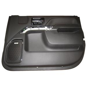 Factory New GM 0 miles Silverado Door Panel Front Passenger Jet Black 23142589