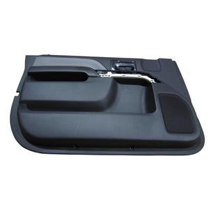Factory New GM 0 miles Silverado Door Panel Front Driver Jet Black 23201060