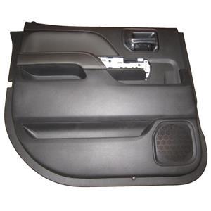 Factory New GM 0 miles Silverado Door Panel Rear Driver Jet Black 23142775