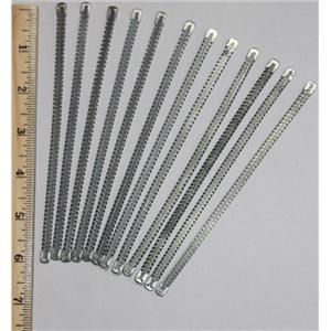 "Corset Wire Bone 6 x1/4"" Spiral Steel Boning for Corsetry  Lot of 12 item  26133"