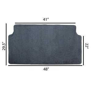 *NEW* Universal SUV Cargo Liner - Dark Charcoal Gray - Large Carpet Floor Mat