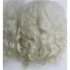 "4"" -10"" curly adult sorted washed mohair  1 oz doll hair  26169"
