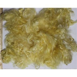 "sunny yellow light  Mohair curls 0.65 oz  fine adult shorts 1-3"" 26191"