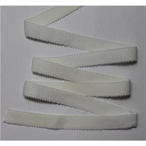 "Crownette trims Finishing Plush Elastic white full spool abt 200 ydsx5/8""  26201"