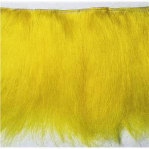 "Yak hair weft fine yakette wig making weft dyed yellow 5g 7-8 ""x134"" 26264 FP"