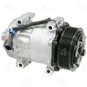 AC Compressor 4 Seasons 58796 SD7H15 8 Groove (1 Year Warranty) Reman