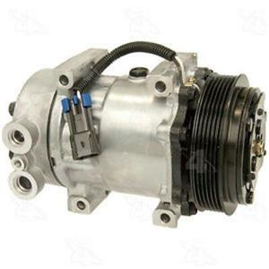 AC Compressor 4 Seasons 98596 SD7H15 (1 Year Warranty) Reman