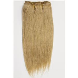 "Blonde 20 straight mohair weft coarse 6- 8"" x 48"" 26386 QP"
