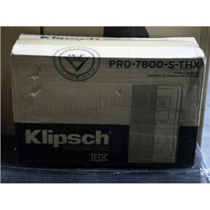 Brand New Klipsch PRO-7800-S-THX Ultra II White In-Wall Speakers 1062261