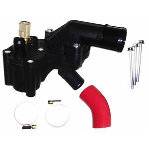Austekk - K-8592-BFAS - Thermostat Housing Assembly w/Sensor w/Bypass Hose