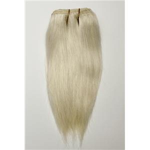 "Blonde 613 straight mohair weft coarse 7- 8"" x 48"" 26434 QP"