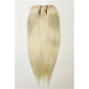 """Blonde 613  straight mohair weft coarse 7-8"""" x100"""" 26433 HP"""