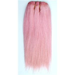 "Pink  straight mohair weft coarse 7-8"" x100"" 26460 HP"