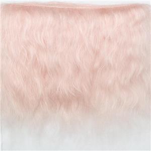 "mohair weft fine pink  5-6""  2 yds  26496"