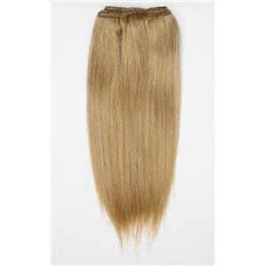 "Blonde 14 straight mohair weft coarse 7- 8"" x 48"" 26521 QP"