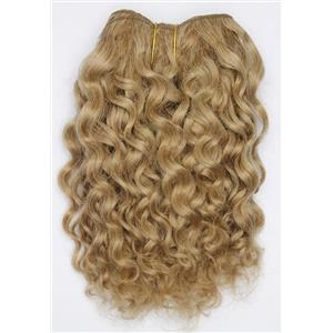 "Blonde 14 Curly mohair weft coarse 7- 8"" x 50""  26524 QP"