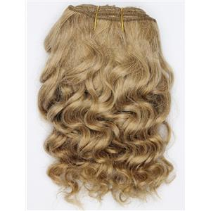 "Blonde 14 wavy mohair weft coarse  6-8"" x200""  26528  FP"