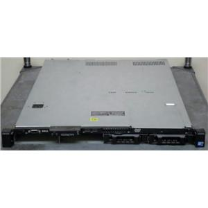 "Dell R310 4-Bay 3.5"" 2x PSU, 1x Intel X3450 4x 4GB DIMM, 1x DVD, No Hard Drives"