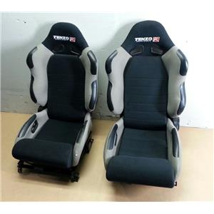 Pair of 2 Tenzo R T-TS4000G Gray Reclinable Racing Seats DS & PS - LOCAL PICKUP