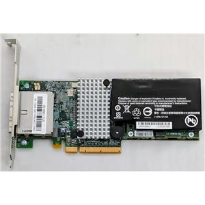 Intel RAID RS2PI008 6GB SAS Profile Controller Card w/ Battery 370-1064-00